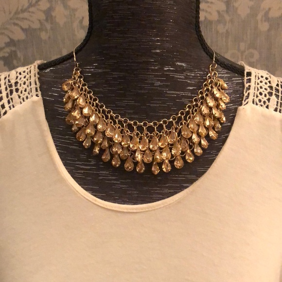 Jewelry - Boho gold necklace